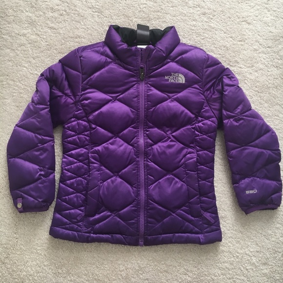 c5c000648 The North Face girls 550 down filled coat